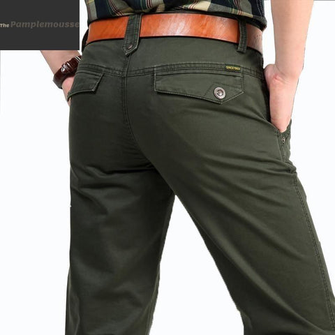 Men Original 100% Pure Cotton Military Cargo Pants - Free Shipping - Fashion - Clothing - $40.00 | The Pamplemousse