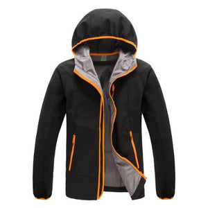 Men Sports Outdoor Waterproof Cotton Padded Jacket - Color Block - Black / S - Free Shipping - Outdoor - Outdoor - $49.00 | The Pamplemousse