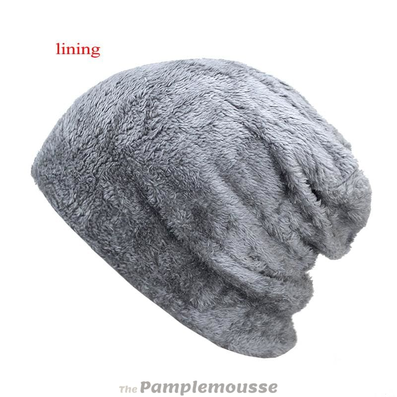 07ad79b7711 Men Winter Warm Knitted Thick Soft Stretch Slouchy Beanie - Free Shipping -  Fashion - Accessories
