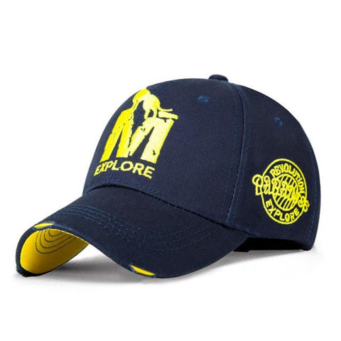 Men & Women Gilding Letters Baseball Cap - Navy Blue - Free Shipping - Fashion - Accessories - $11.90 | The Pamplemousse