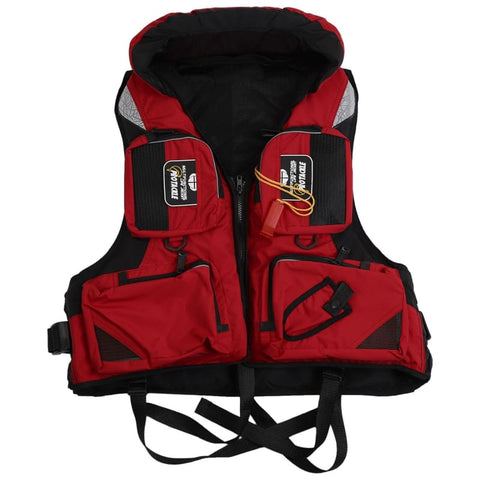 Men Women Life Jacket Vest For Water Sports Adult Adjustable Buoyancy Aid Swimming Boating Sailing Fishing Kayak Life Vest - Free Shipping -