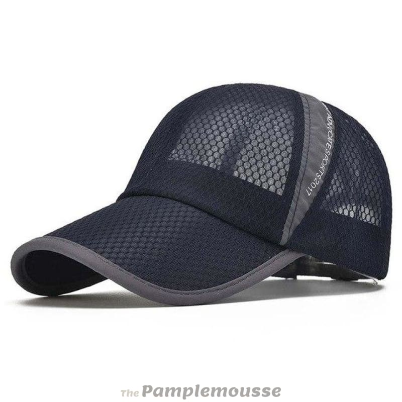 b2e688d49681a Men   Women Summer Sport Outdoor Breathable Quick Dry Mesh Baseball Cap  Casual Sun Hat -
