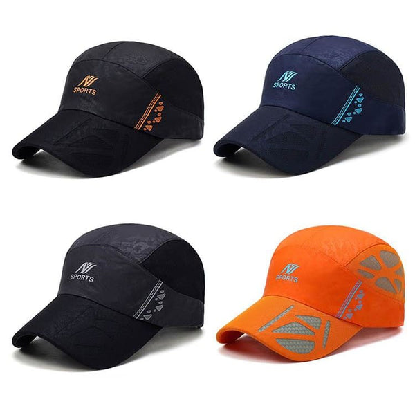 Men & Women Summer Sport Outdoor Breathable Quick-Drying Baseball Cap - Black - Free Shipping - Fashion - Accessories - $12.00 | The