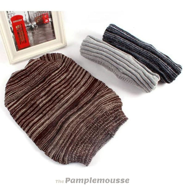 Mens Hip-Hop Knit Wool Warm Slouch Beanie Skully Cap - Brown - Free Shipping - Fashion - Accessories - $7.90 | The Pamplemousse