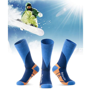Mens Outdoor Hiking Skiing Winter Socks Quick-Drying Sports Socks Winter Thermal Socks For Men Women - Free Shipping - Outdoor - Clothing -