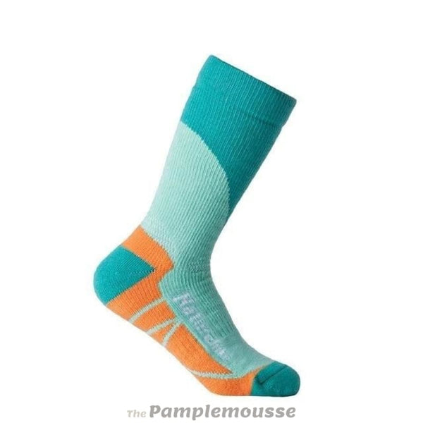 Mens Outdoor Hiking Skiing Winter Socks Quick-Drying Sports Socks Winter Thermal Socks For Men Women - Light Green - Free Shipping - Outdoor