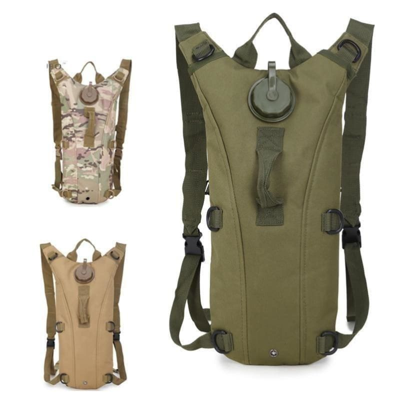 17b8f613b5 Military Tactical Hydration Pack 3L Water Molle Military Backpack Outdoor  Camping Camel Pack - Free Shipping