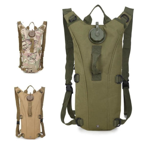 Military Tactical Hydration Pack 3L Water Molle Military Backpack Outdoor Camping Camel Pack - Free Shipping - Outdoor - Outdoor - $25.00 |