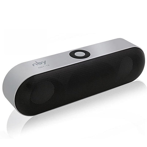 Mini Bluetooth Portable Speaker Wireless Sound System 3D Stereo Music - Silver - Free Shipping - Electronics - $19.90 | The Pamplemousse