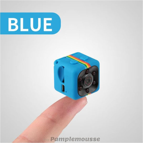Mini Camera Hd 1080P Sport Car Car Dv Digital Video Recorder Infrared Night Vision Camera - Blue - Free Shipping - Electronics - Electronics