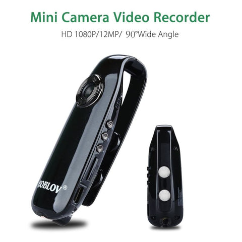 Mini Hd 1080P Camera Digital Video Recorder Wide Angle Police Body Bike Dash Cam Recorder - Free Shipping - Electronics - Electronics -