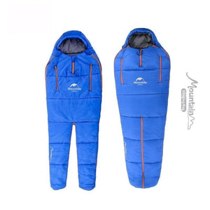 Mountain Sleeping Bag 1 Person 2 Seasons Special Shape Cotton Waterproof Sleeping Bag - Free Shipping - Outdoor - Gear - $89.00 | The