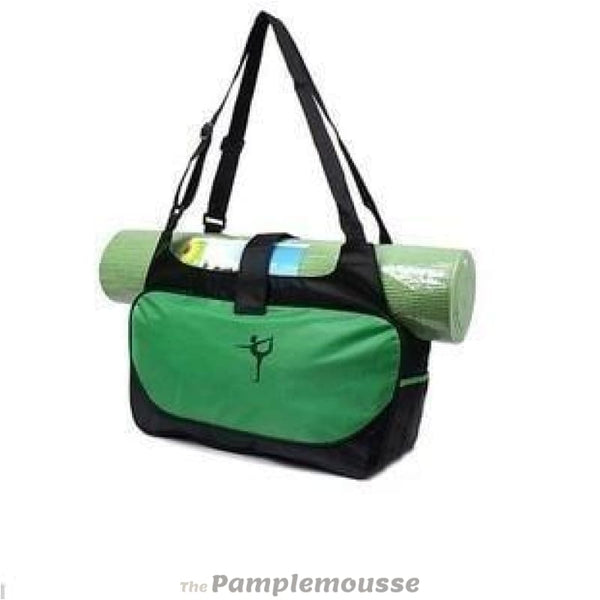 Multi-Function Extra Large Yoga Gym Mat Bag Waterproof Yoga Pilate Mat Carrier - Green - Free Shipping - Sports - Bags - $19.00 | The