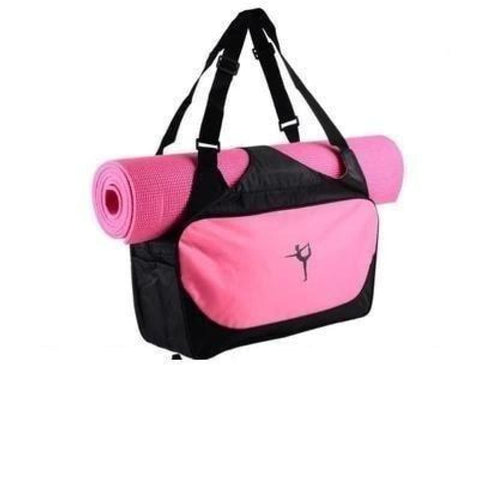 Multi-Function Extra Large Yoga Gym Mat Bag Waterproof Yoga Pilate Mat Carrier - Pink - Free Shipping - Sports - Bags - $19.00 | The