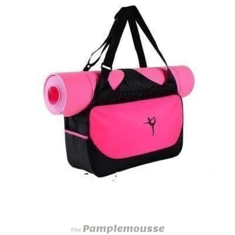 7a379a5b11 Multi-Function Extra Large Yoga Gym Mat Bag Waterproof Yoga Pilate Mat  Carrier - Red