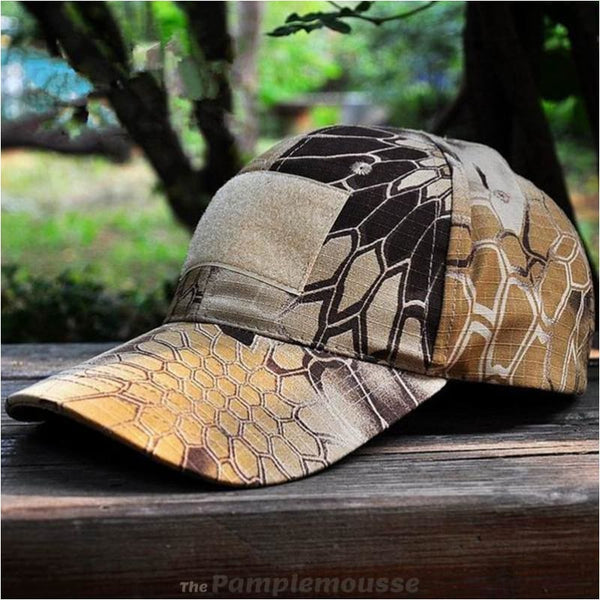 New Mens Tactical Baseball Cap Camouflage Military Hat Hiking Fishing Hunting Combat Paintball Cap - Highlander - Free Shipping - Outdoor -