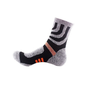 New Outdoor Unisex Hiking Socks High Quality Cotton Women Men Sports Socks - Gray / 38 To 45 Eu - Free Shipping - Outdoor - Clothing - $9.00