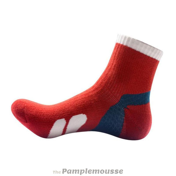 New Unisex Sports Socks Men Women Breathable Running Basketball Cycling Socks - Red - Free Shipping - The Pamplemousse - Clothing - $7.00 |