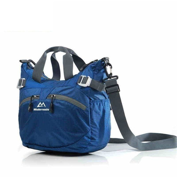 Nylon Waterproof Outdoor 20L Gym Bag - Blue - Free Shipping - Accessories - Bags - $39.00 | The Pamplemousse