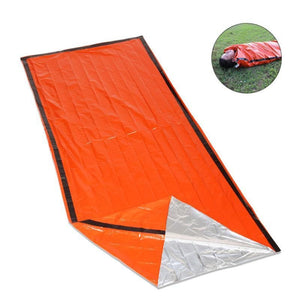 Orange Emergency Sleeping Bag First Aid Bivouac Sack - Free Shipping - Outdoor - Gear - $10.00 | The Pamplemousse