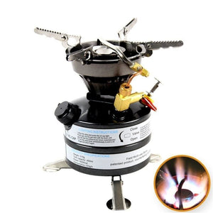 Outdoor Mini Liquid Fuel Cooking System Camping Gasoline Stove Burner - Free Shipping - Outdoor - Gear - $69.00 | The Pamplemousse