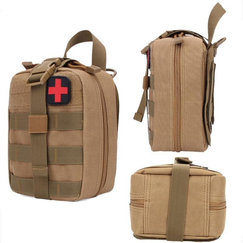 Outdoor Molle First Aid Kit Pouch Tactical Medical Bag Camping Hunting  Survival Army IFAK Pouch