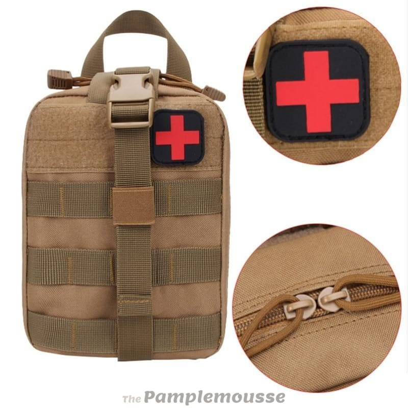 Outdoor Molle First Aid Kit Pouch Tactical Medical Bag