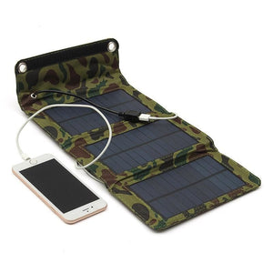 Outdoor Portable 5W 5.5V Usb Output Solar Panel Charger Folding Camping Cell Phones Solar Charger - Free Shipping - Outdoor - Electronics -