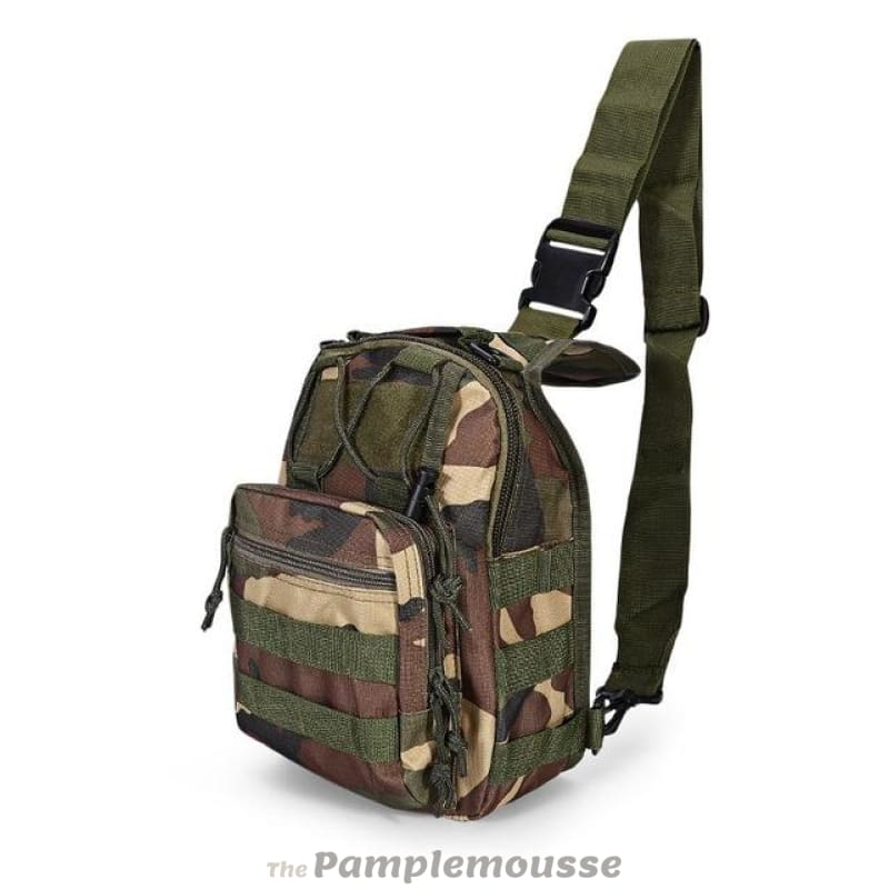 Hiking One Shoulder Tactical Camouflage Hunting Military Nylon Sport Camping Engagement & Wedding