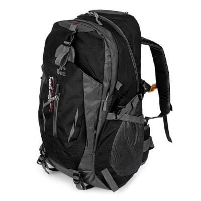 Outdoor Water Resistant Rucksack Travel Backpack - Black - Free Shipping - Accessories - Bags - $12.00 | The Pamplemousse