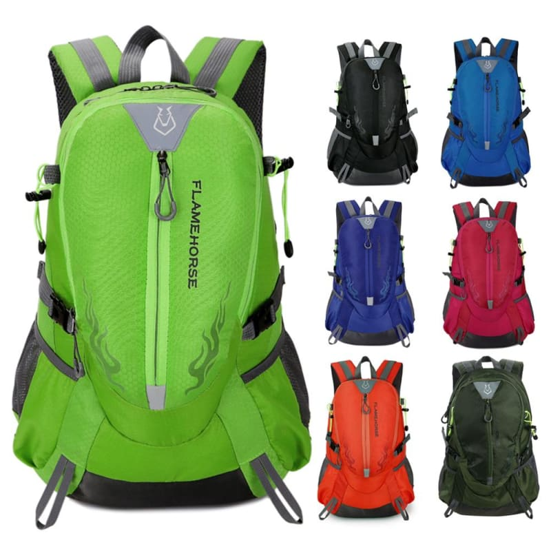 Outdoor Waterproof Nylon Hiking Backpack Unisex Camping Climbing Traveling  Mountain Rucksack - Free Shipping - Accessories 999e1fa3c3db2