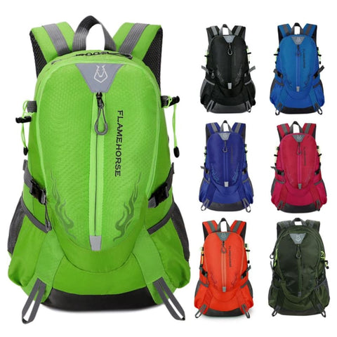 Outdoor Waterproof Nylon Hiking Backpack Unisex Camping Climbing Traveling Mountain Rucksack - Free Shipping - Accessories - Bags - $19.00 |