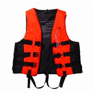 Polyester Adult Life Vest Safety Jacket For Water Sports Swimming Boating Rafting Sailing Life Vest With Whistle - Free Shipping - Outdoor -