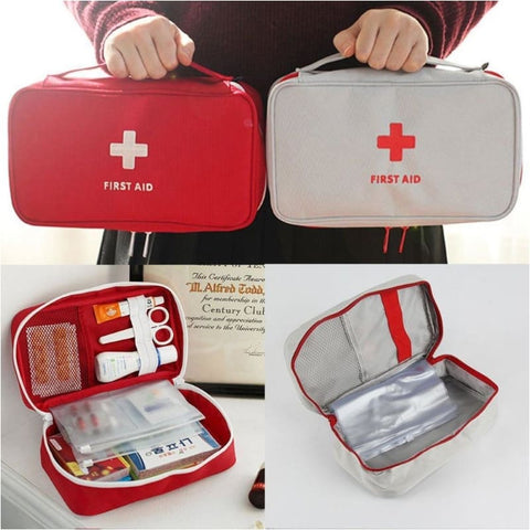 Portable Outdoor Waterproof Eva First Aid Kit For Family Or Camping Travel Emergency Medical Treatment First Aid Kit - Free Shipping -