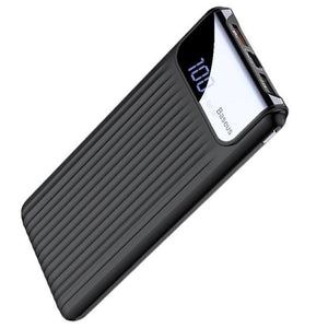 Quick Charge 3.0 Speed 10000Mah Power Bank Accelerated High-Capacity External Battery Charger - Black - Free Shipping - Electronics - $29.90