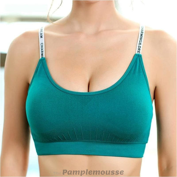 Sexy Yoga Sports Bra Fitness Gym Workout Push Up Padded Brassiere - Green / M - Free Shipping - Sports - Clothing - $15.00 | The
