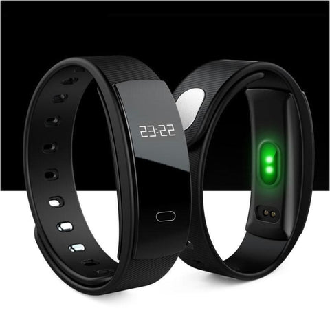 Smart Fitness Tracker Wristband Heart Rate Monitor Bluetooth Bracelet For Iphone Android Phone - Free Shipping - Sports - Electronics -