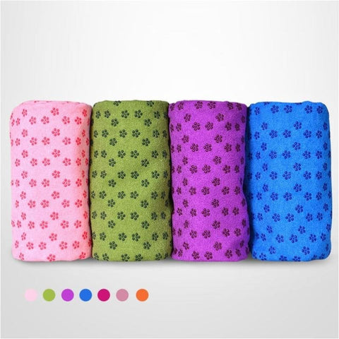 Soft Fitness Yoga Mat Travel Sport Blanket Thick Yoga Towel Gym Pilates Mat - Free Shipping - Sports - Gear - $25.00 | The Pamplemousse