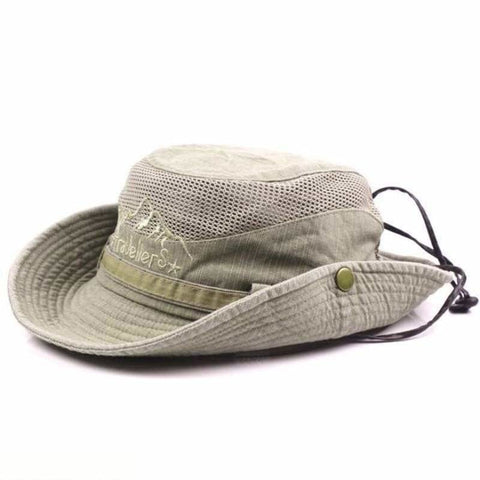 Mens Summer Cotton Outdoor Bucket Hat Army Boonie Jungle Hat Fishing Cap - Free Shipping - Fashion - Accessories - $15.00 | The Pamplemousse