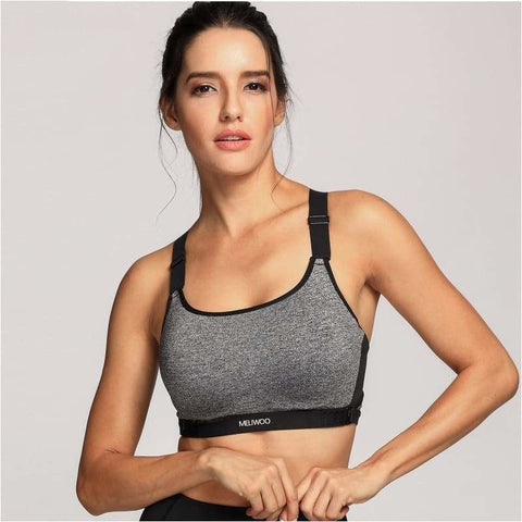Womens High Impact Padded Racerback Ultra Support Pro Running Bra - Free Shipping - Sports - Clothing - $25.00 | The Pamplemousse