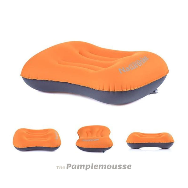 Ultralight Outdoor Inflatable Travel Pillow Sleeping Gear - Orange - Free Shipping - Outdoor - Outdoor - $19.00 | The Pamplemousse