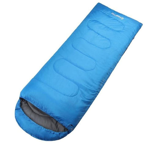 Ultralight Winter Cotton Sleeping Bag Envelope Type Large Size Hiking Sleeping Bag - Blue - Free Shipping - Outdoor - Gear - $69.00 | The