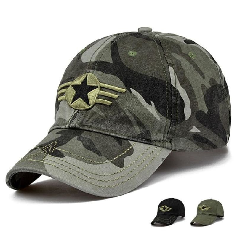 7fb31de934227 Unisex Camouflage Army Military Adjustable Baseball Cap Hunting Outdoor Hat  - Camouflage 3 - Free Shipping