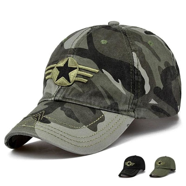 Unisex Camouflage Army Military Adjustable Baseball Cap Hunting Outdoor Hat - Camouflage 3 - Free Shipping - Fashion - Accessories - $10.00