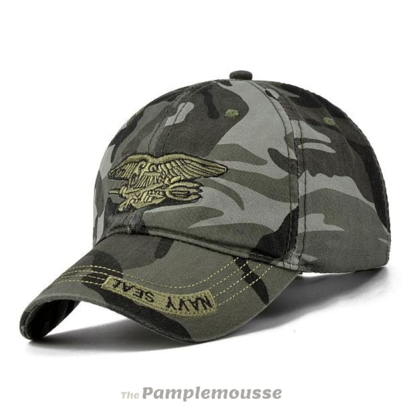 8f9da098056 Unisex Camouflage Army Military Adjustable Baseball Cap Hunting Outdoor Hat  - Camouflage - Free Shipping -