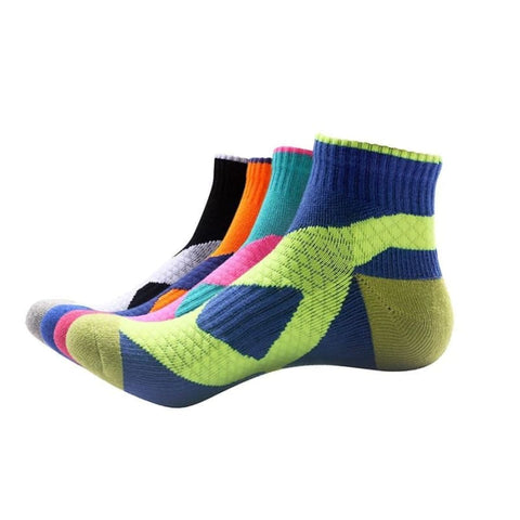 Unisex Nylon Cotton Sport Socks Running Cycling Fitness Breathable Ankle Socks - Free Shipping - Sports - Clothing - $7.00 | The