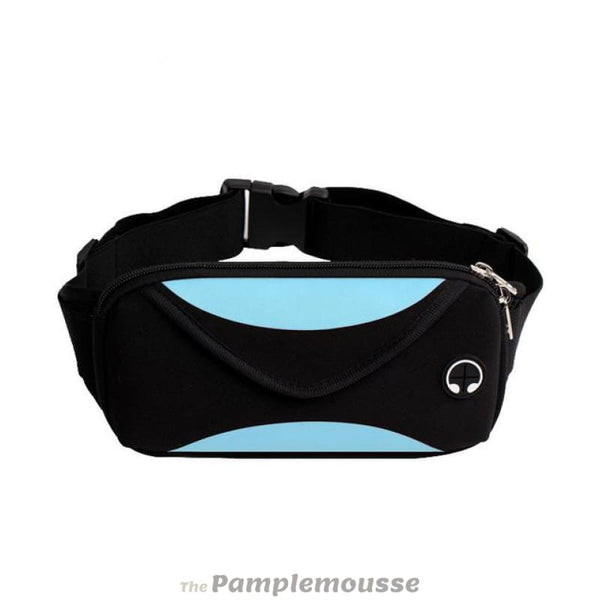 Unisex Sport Waist Pack Travel Running Waist Bag Waterproof Wallet Pouch Bag - Sky Blue - Free Shipping - Accessories - Bags - $9.00 | The