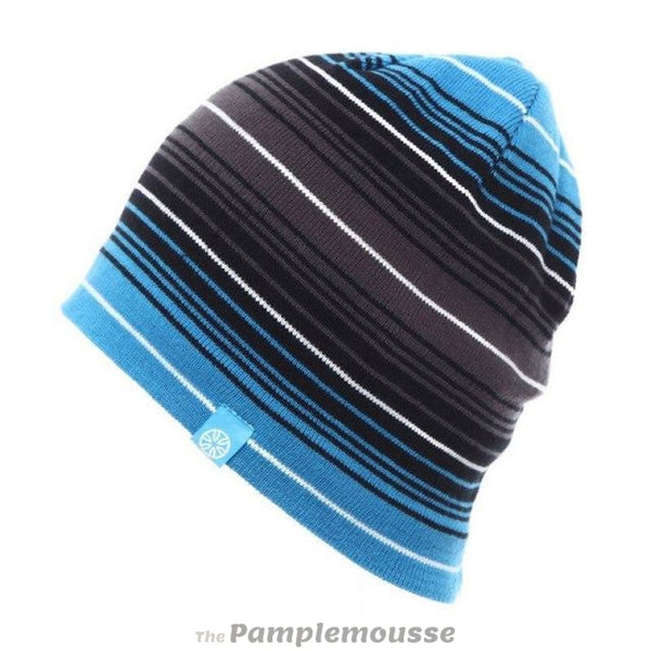 Unisex Striped Premium Fitted Slouch Beanie Winter Sports Skiing Hat For Men And Women - A - Free Shipping - Outdoor - Accessories - $14.00