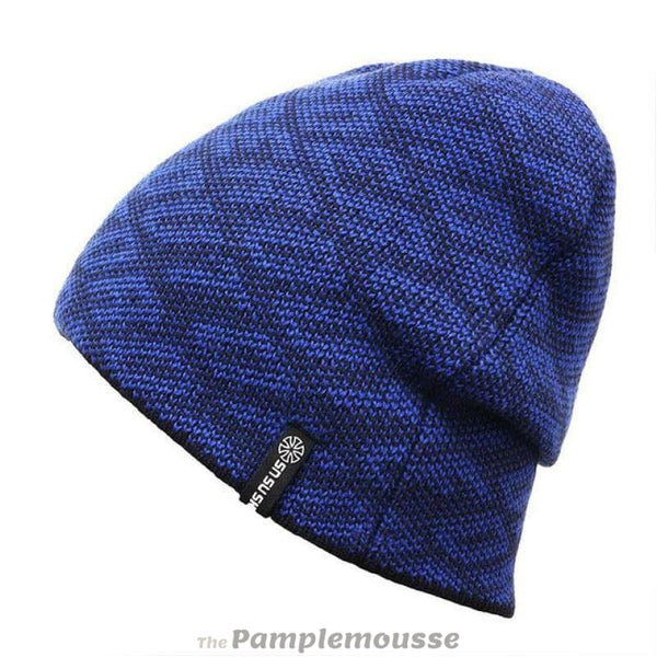 Unisex Warm Thick Beanie Winter Hat Sports Skiing Hat For Men And Women - Blue - Free Shipping - Outdoor - Accessories - $13.00 | The