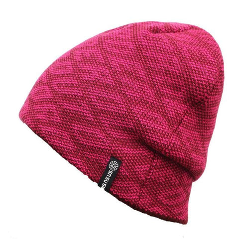 Unisex Warm Thick Beanie Winter Hat Sports Skiing Hat For Men And Women - Red - Free Shipping - Outdoor - Accessories - $13.00 | The
